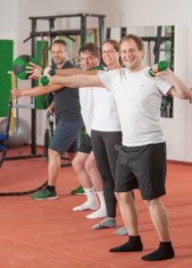 Physiotherapeutisches Training bei FILOS mit Florian Greimel
